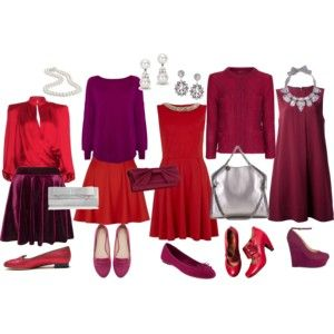 Red and purple new eve