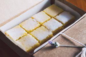 Quadrados de Limão Siciliano (Lemon Bars)