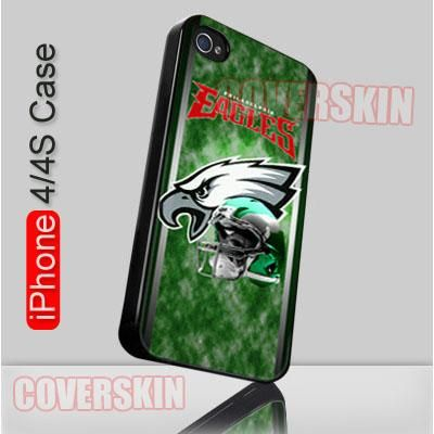 NFL Philadelphia Eagles Logo iPhone 4 or 4S Case Cover - 1
