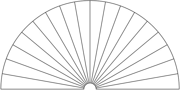 Dowsing Chart, 18 Pieces. You can use this picture to make your own Dowsing Chart, by adding any text or symbols you want.