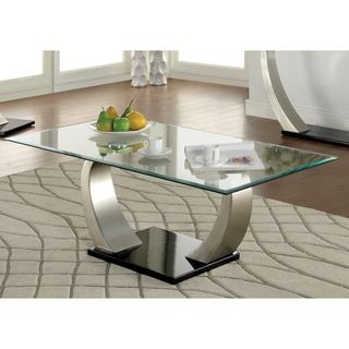 Superb Shop For Furniture Of America Carmella Modern Satin Plated Coffee Table.  Get Free Shipping At