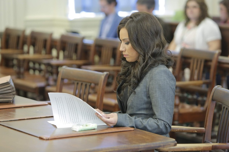 Alexis Wright awaits the start of her sentencing in York County Superior Court in Alfred on Friday morning.