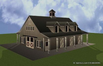 Horse Barn Builder In Georgia - Ga Pole Barn Builders -Horse Barn