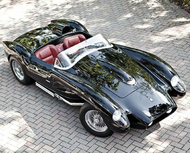 1958 Ferrari Testa Rossa #Real Classic Ferrari # http://hiphoponwheels.com/girlslovepink