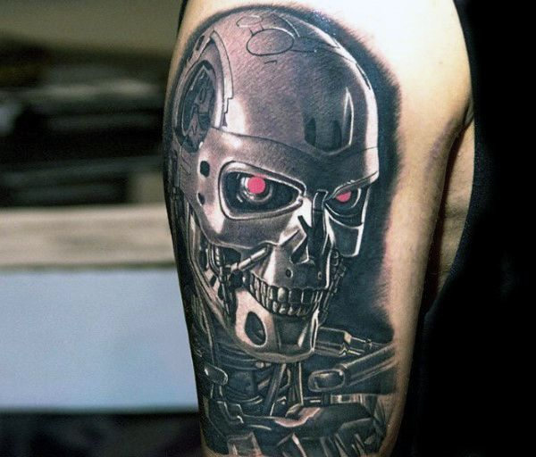 60 Terminator Tattoo Designs For Men