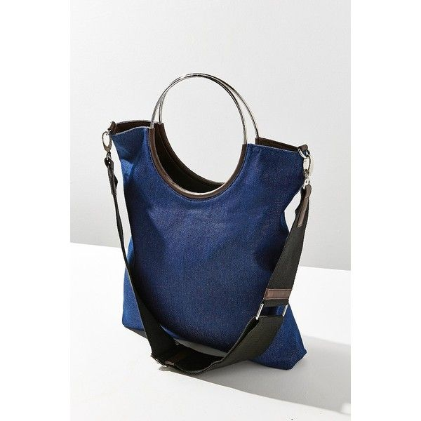 Gigi Tote Bag ($30) ❤ liked on Polyvore featuring bags, handbags, tote bags, tote hand bags, blue totes, imitation handbags, tote bag purse and urban outfitters