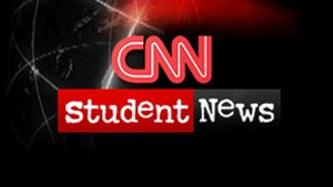 cnn student news- keep your students informed of current events. Perfect for the current events class I want to teach this year. Show ten minute clip at the beginning of each class. Includes transcript and discussion questions.
