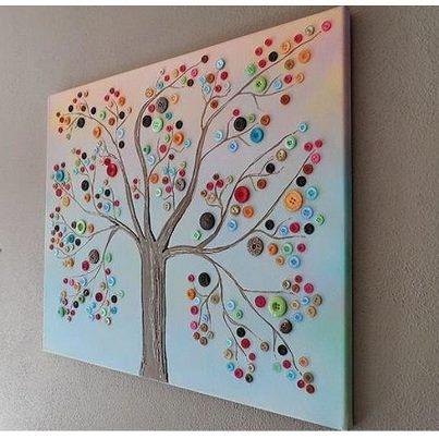 Cuadro de Árbol con Botones