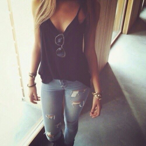 Perfect for casual... I practically have this entire outfit!! I love it so much!