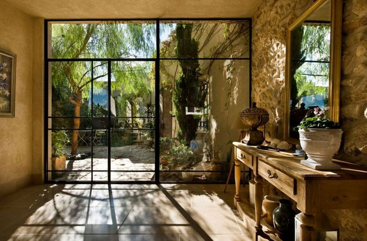 View from front door to the back Ideas: Exquisite Modern Villas Design