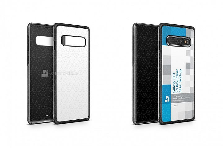 Samsung Galaxy S10 2d Rubberflex Case Design Mockup 2019 237890 Mockups Design Bundles Mobile Case Design Samsung Galaxy Mockup Design