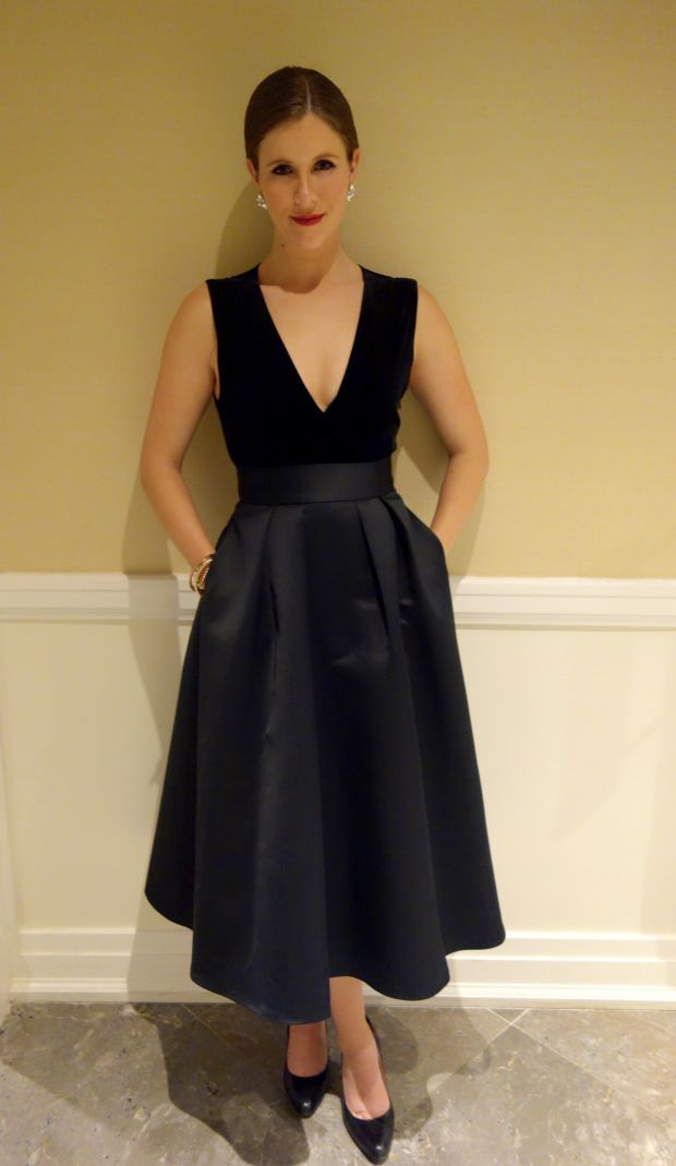 Black Tie // Skirt - Coast Clothing // Top - Zara // buttonblogs.wordpress.com