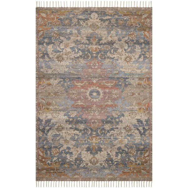 Cornelia Hand Knotted Denim Area Rug In 2020 Area Rugs Woven Rug Rugs