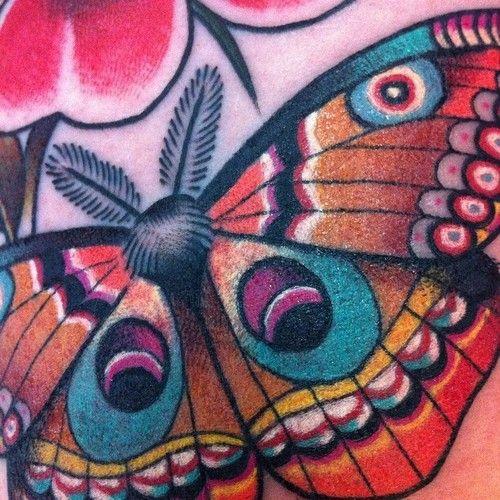 Follow us on FreshTattoo.tumblr.com guendouglas:  Moth detail  from today inner arm… http://ift.tt/Yh5B8G