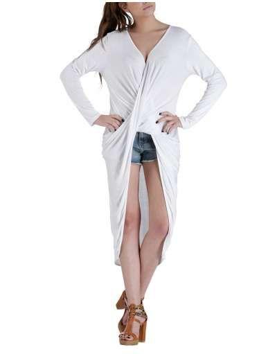 ΝΕΕΣ ΑΦΙΞΕΙΣ :: Μπλουζοφόρεμα Κρουαζέ White - OEM