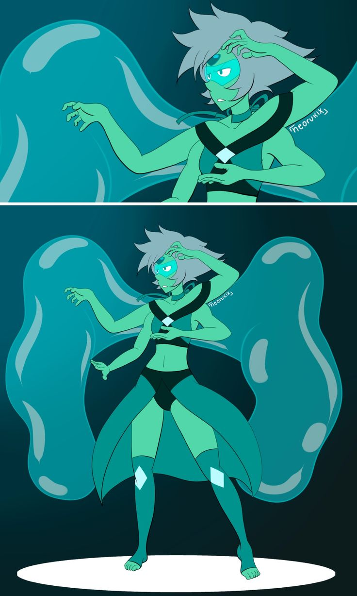 """Damn I wish! If Peridot and Lapis fuse in Steven Universe short """"Peridot and Lapis video chat"""" imma scream at the top of my lungs and cry"""
