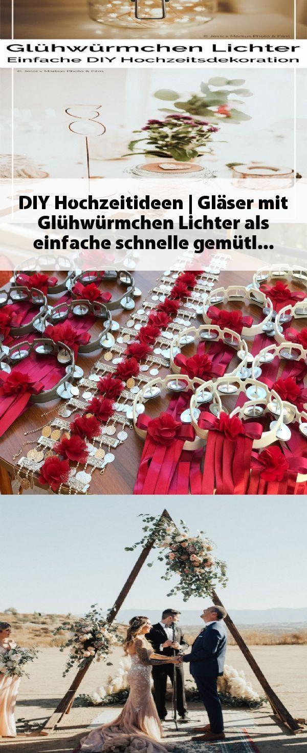 Diy Hochzeitsideen Glaser Mit Gluhwurmchen Leuchten So Einfach Schnell G Hochzeit Hochzeitsdeko Selber Machen Lichter Hochzeitsdeko