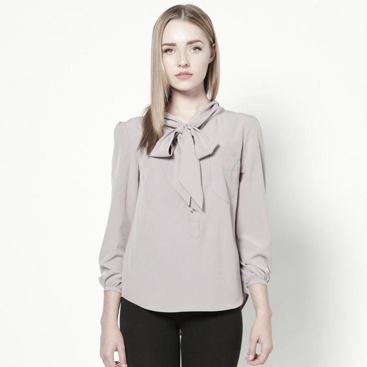 duel blouse / lilac