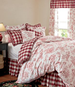 Buffalo Check Reversible Duvet - traditional - duvet covers - Country Curtains
