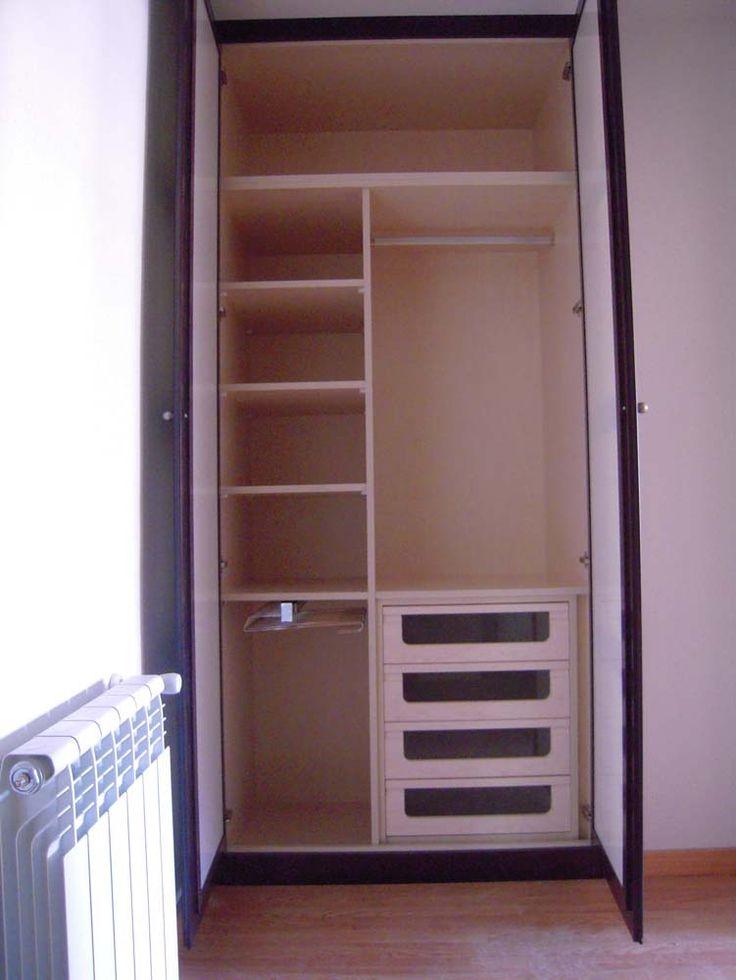 Interiores armarios empotrados infantiles - Armarios dos puertas ...