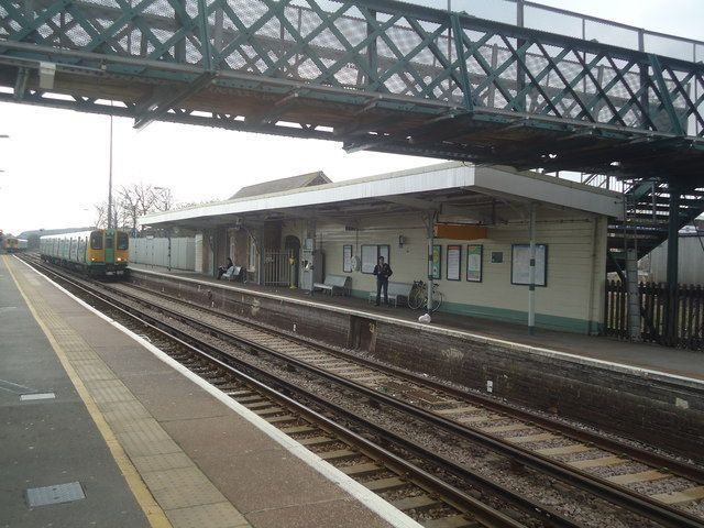 Newhaven Town Railway Station (NVN) in Newhaven, East Sussex