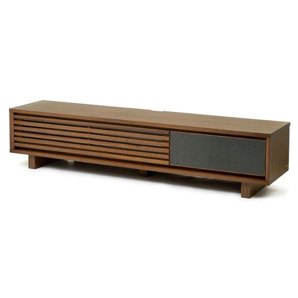 Platt TV board 200 / Walnut:プラット | テレビボード | 国産 | 東京、目黒通りにあるインテリアショップカーフ、ブラックボードのオンラインサイトです。オリジナルデザインの家具や、北欧,英国ビンテージ・アンティーク・インダストリアル家具・照明を取り扱っております。