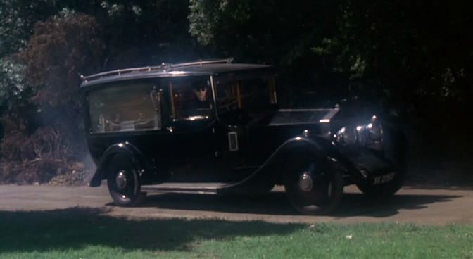 This creepy hearse seen in the 1976 haunted house classic burnt offerings is a rolls royce for Classic haunted house movies