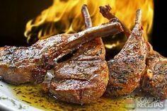 Receita de Costela de cordeiro assada em receitas de carnes, veja essa e outras receitas aqui!