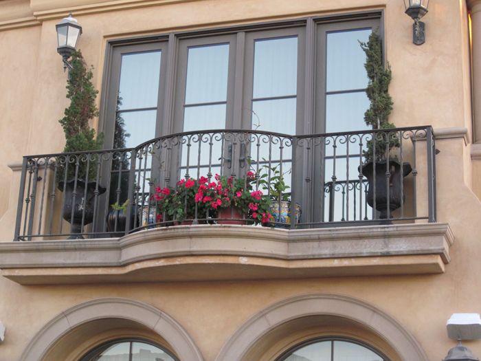 wrought iron balcony railing - Google Search