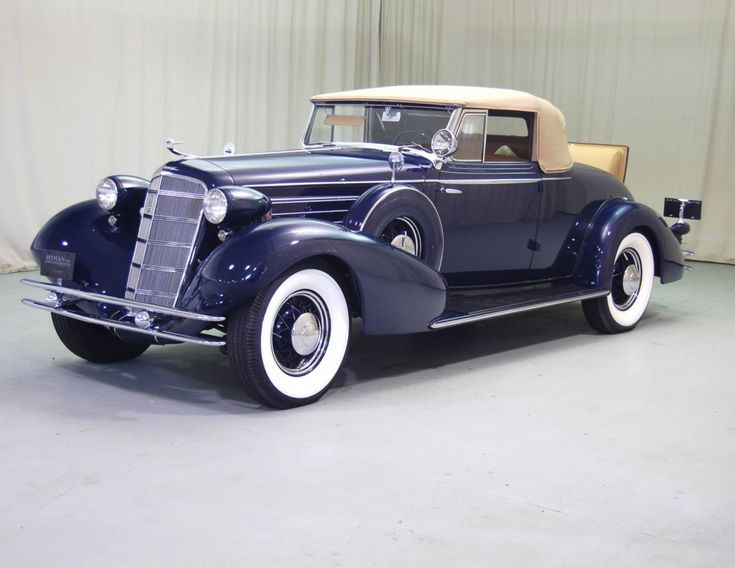 1934 Cadillac Cabriolet Coupé