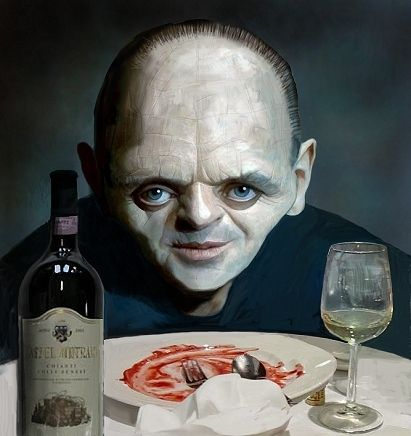 [ Anthony Hopkins ] - artist: Steve Cutts - website: http://www.stevecutts.com