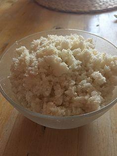 Low Carb Blumenkohl Reis | Cauliflower Rice