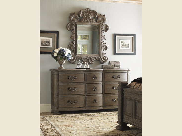 La Tourelle Chateaux Dresser Mocha And Chocolate Finish Lexington Home Brands Sleep Well