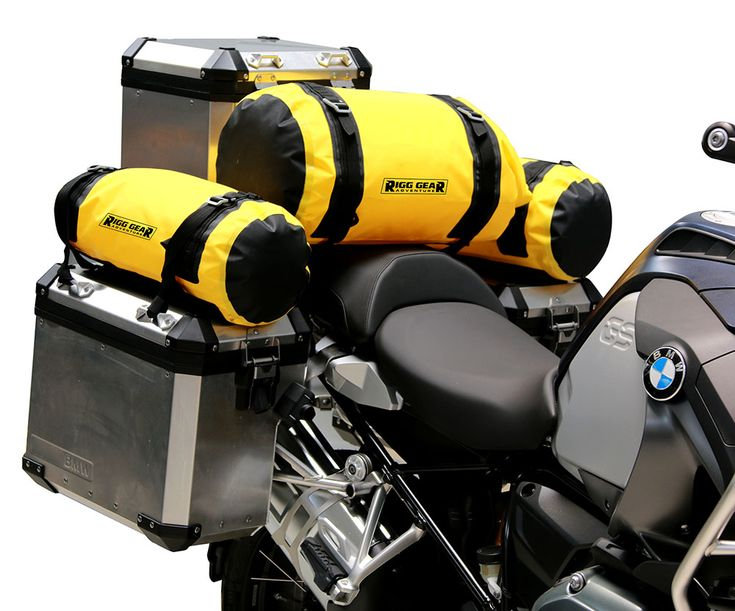 Adventure Motorcycle Dry Roll Bag - 30L Image 9