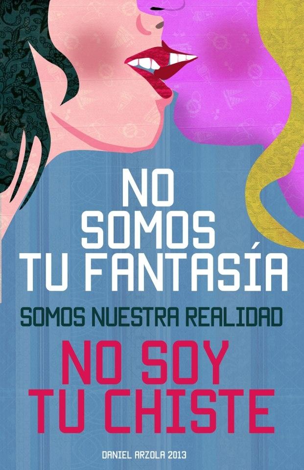 El artista y escritor emergente Daniel Arzola ha creado una campaña llamada No Soy Tu Chiste, que consiste en crear sensibilización sobre la sexo diversidad por medio del arte.