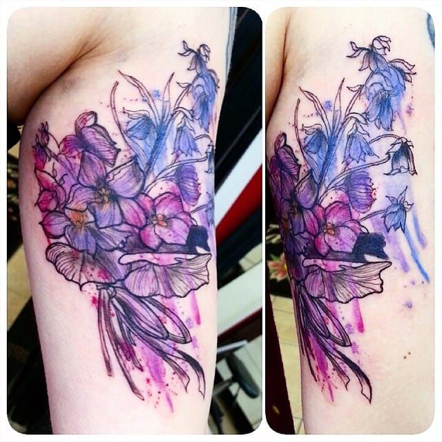 Più di 25 fantastiche idee su Violet Tattoo su Pinterest ...