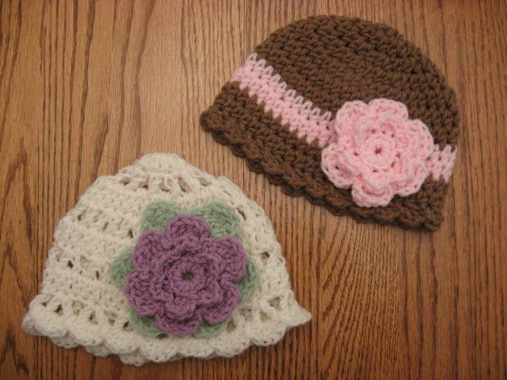 Crochet Baby Hats: Crochet Stuff, Crochet Projects, Crochet Baby Hats, Crochet Hats, Hats Crafts, Baby Hats Pin, Crochetbabi, Baby Hats Crochet, Crochet Knits