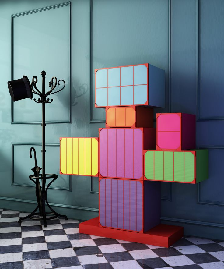 #man cabinet in a gentleman #entrance setting, design Elena Cutolo for #altreforme #festamobile #amoveablefeast #interior #home #decor #homedecor #furniture #aluminium #woweffect #madeinItaly