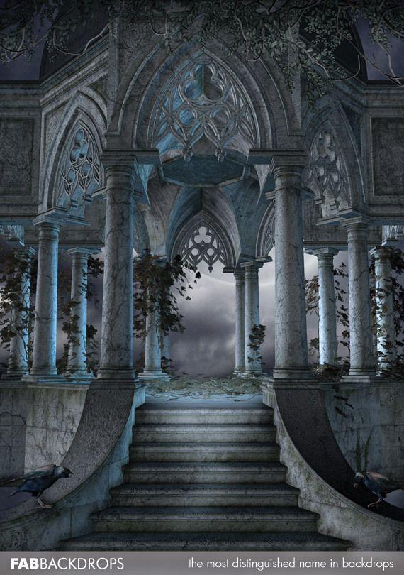 The Ritual Halloween Backdrop