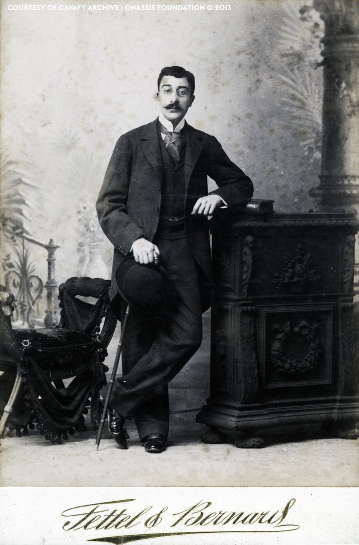 Konstantinos Petrou Kavafis Kavafis (1863-1933) is one of the better known Greek poets of the 20th century.