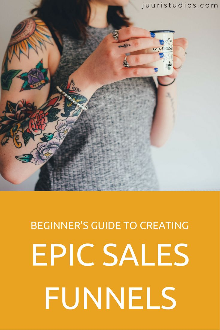 Beginner's guide to creating epic sales funnels
