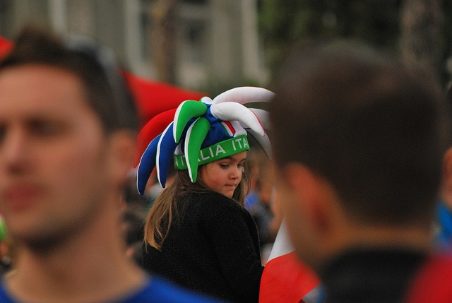 Rugby, sport da uomini duri... o forse no??  Italia All Blacks 2012, via Flickr.