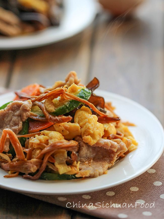 Moo Shu Pork | Recipe | Moo Shu Pork, Pork and Ears