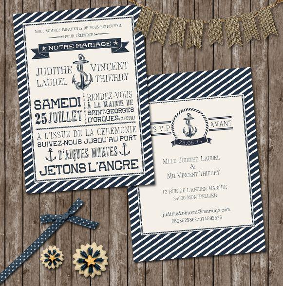 les 25 meilleures id es de la cat gorie invitations un mariage la mer sur pinterest. Black Bedroom Furniture Sets. Home Design Ideas