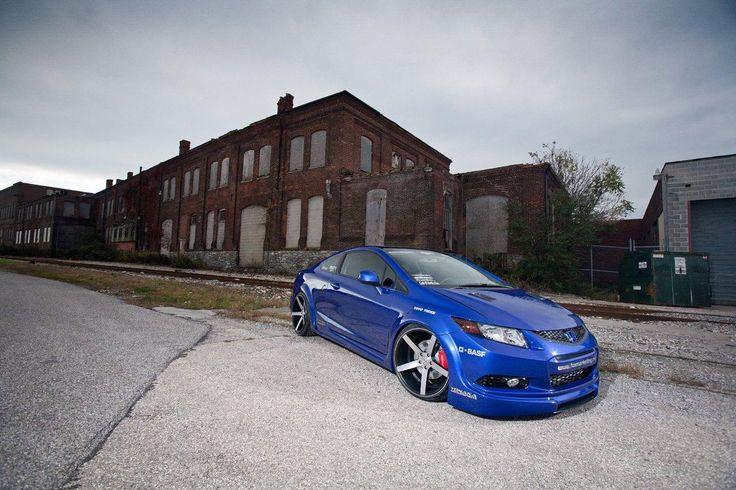 Honda Civic Si для SEMA от Fox Marketing