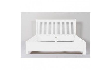 Senge med kvalitet - Sengekompagniet har mærkevarer på tilbud Zebra seng 180x200 Hvid - Zebra - Sengerammer
