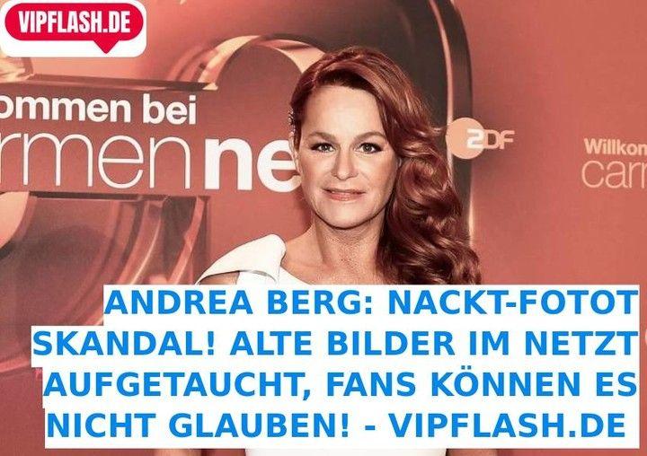 Nackt  Andrea Berg Andrea Berg: