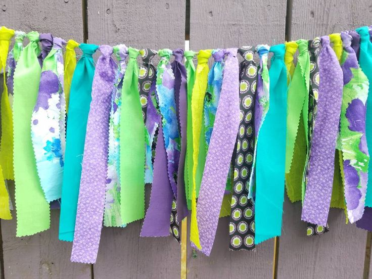 Bohemian Valance Boho Garland Festival Decor Hippie Baby Shower Decor by hollyhockvillage.com