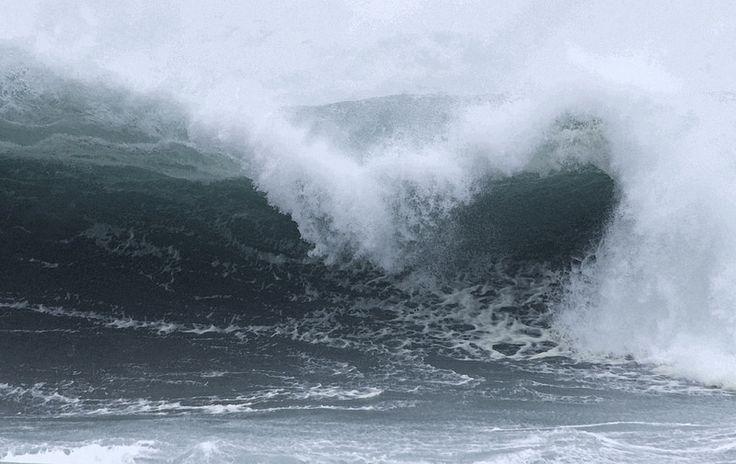 Heavy Surf on the Oregon Coast