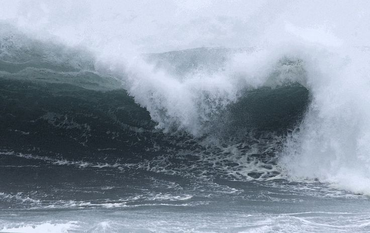 Heavy Surf on the Oregon Coast